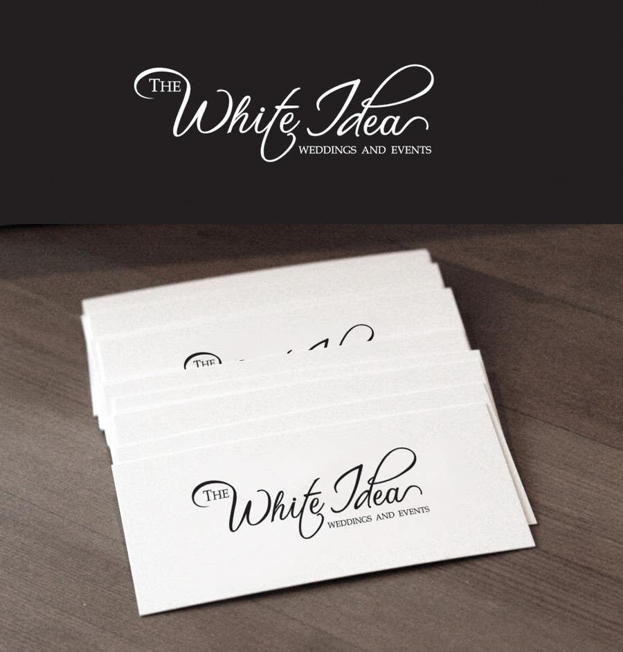 #521 for Logo Design for The White Idea - Wedding and Events by Deedesigns