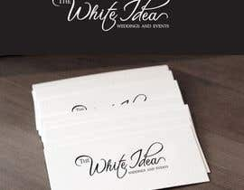 #521 untuk Logo Design for The White Idea - Wedding and Events oleh Deedesigns