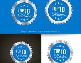 #102 untuk design a logo for TOP 10 READERS oleh EladioHidalgo