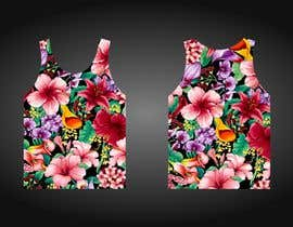 #87 для Design printed floral vest от josepave72