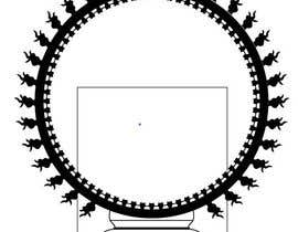 #9 para Draw a vector image of Nataraja (Dancing Shiva) in black and white por palashbdlive