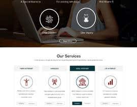 #21 para Design a Website Mockup de xprtdesigner