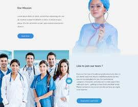 Nro 25 kilpailuun Create Mockup Landing Images of Websites käyttäjältä zakimubarakaziz