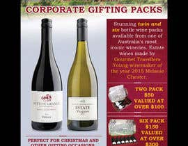 #63 for Design a Flyer for Corporate Wine Gift Packs by savitamane212