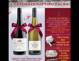#65 for Design a Flyer for Corporate Wine Gift Packs by savitamane212