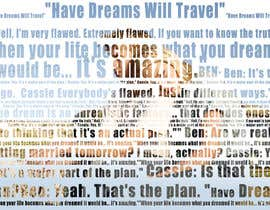 #42 for Art Picture Made Up Of Quotes by zidifiras