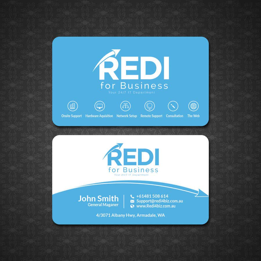 Entry 238 By Papri802030 For Design Business Card For Use