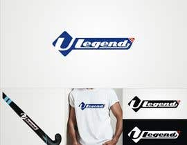 #36 para design a logo for ball hockey brand: stick/ball/protective clothing/helmet/team uniform por abdsigns