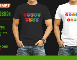 #127 for T-shirt Design   ( party time) by FARUKTRB