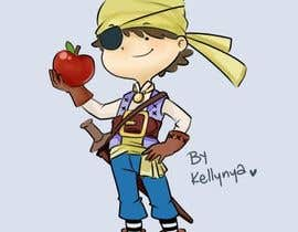 Nro 53 kilpailuun Character and Environment Design for a Childs Book with Pirate setting käyttäjältä kellynya