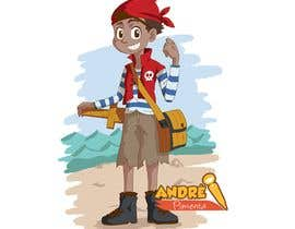 Nro 42 kilpailuun Character and Environment Design for a Childs Book with Pirate setting käyttäjältä AndrePimenta