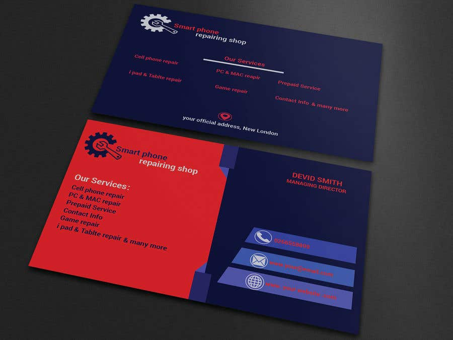 Entry 21 By Freelanceranis For Need Business Cards Template For