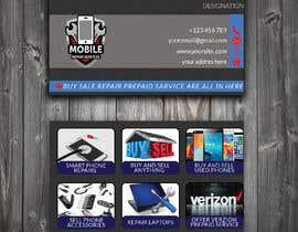 #83 untuk Need business cards template for mobile cell phone/computer repair/ pawn shop store oleh MehediHasan1139