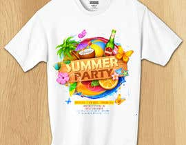 #38 for Design 80 MBA Shirts With Summer Outdoors Themes by mdfijulislam