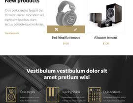 #2 for Logo Designer / Website Mockup / UI / DIVI Woocommerce Expert Needed!  This contest is a test. by SKsiddique