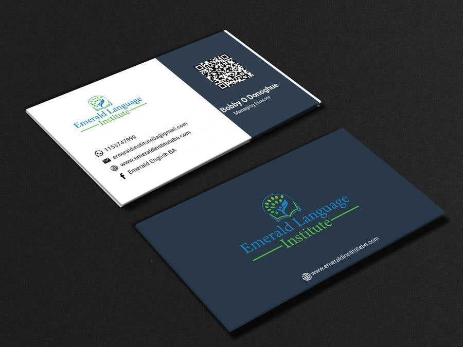 Entry 100 By Wahidislam68 For Emerald Institute Business Card