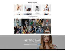 #9 para Update / new theme for Woocommerce site de vedanthemu