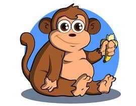 #43 for Original Cute Chubby Monkey af CiroDavid