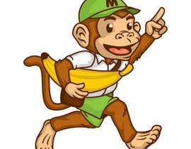 #63 for Original Cute Chubby Monkey af PabloAkbal