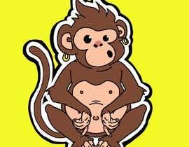 #36 for Original Cute Chubby Monkey af berragzakariae