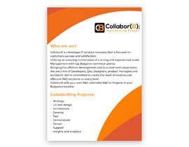 Nro 2 kilpailuun Brochure For Collabor8 käyttäjältä dessiedimitrova