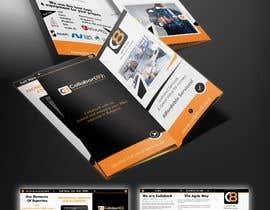 Nro 7 kilpailuun Brochure For Collabor8 käyttäjältä zmdes