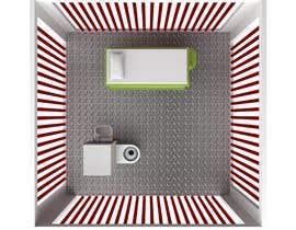 #9 for Design a top-down futuristic prison cell by Gilardi