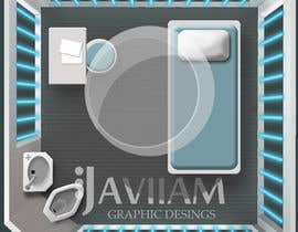 #18 for Design a top-down futuristic prison cell by Javiian16