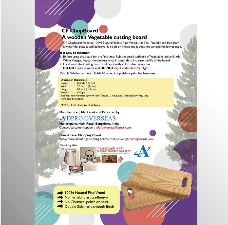 Kilpailutyö #12 kilpailussa Design a Flyer