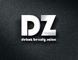 #18 para logo design for a beauty salon,with the letters DZ and underneath in small written Deboz beauty salon should have something that refers to nails colours of  letters should be gold/silver and background black mat  No circels or squares around the logo de AngelinaPriya