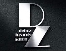 #23 para logo design for a beauty salon,with the letters DZ and underneath in small written Deboz beauty salon should have something that refers to nails colours of  letters should be gold/silver and background black mat  No circels or squares around the logo de AngelinaPriya