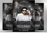 Graphic Design Entri Kontes #132 untuk Design a Night Club Flyer