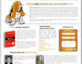 #76 untuk Website Design for Realhound.com oleh customersfactory
