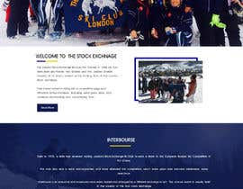 Nro 3 kilpailuun Design home page and layouts for content structure attached.   Exisitng site is: http://www.stockexchangeskiclub.co.uk  Example site: https://cityskichampionships.com käyttäjältä vedanthemu