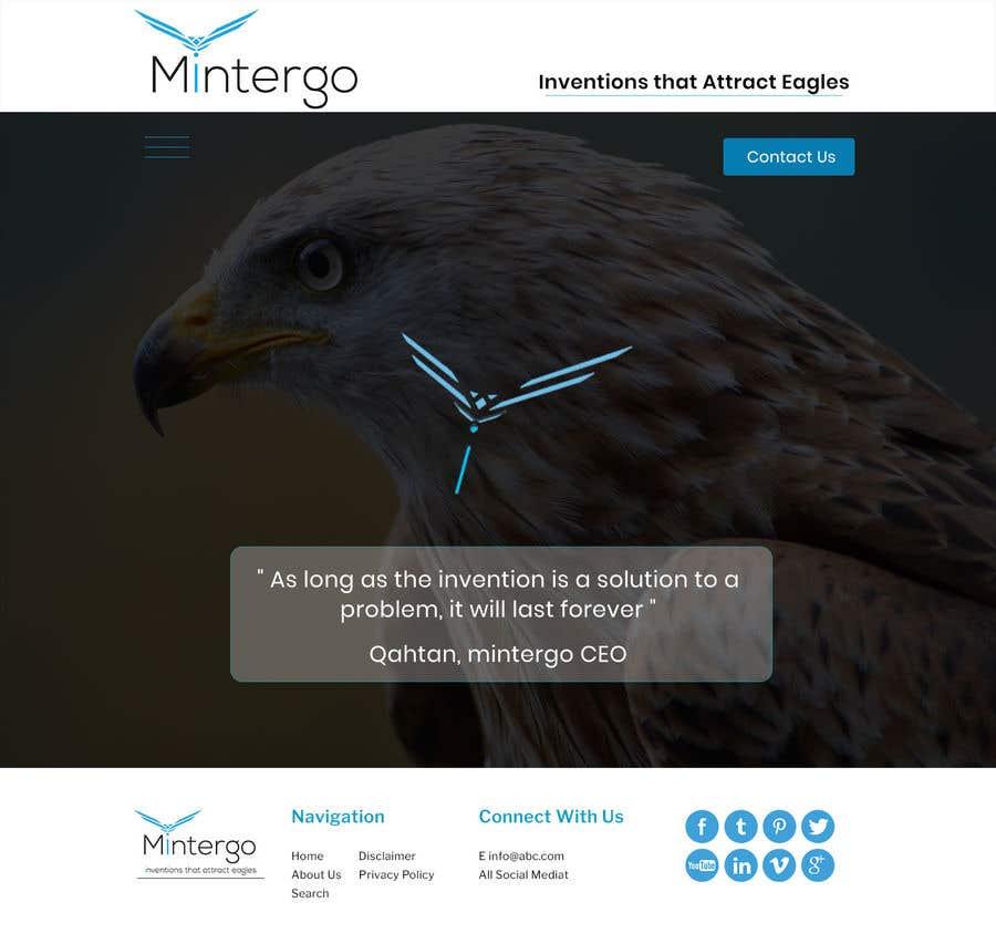 Entry #8 by syedfarrukh0 for Design a Website homepage | Freelancer