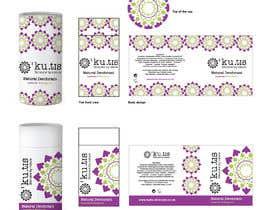 #7 pentru Natural Deodorant label design de către eling88