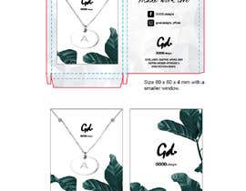 #36 for Design a necklace packaging for our online label af eling88