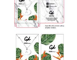 #38 for Design a necklace packaging for our online label af eling88