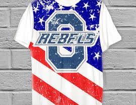 #21 cho Stars & Stripe Tee Shirt Design matching picture bởi AvishekM