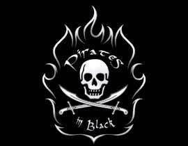 #38 para Logodesign Pirates In Black Band por garik09kots