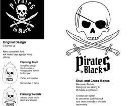#27 para Logodesign Pirates In Black Band por LynnRoseGarden