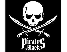 #71 para Logodesign Pirates In Black Band por LynnRoseGarden