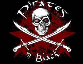 #77 para Logodesign Pirates In Black Band por rasanga3dhr