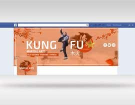 #14 para Design of a kungfu contents FB page banner1 de aes57974ae63cfd9