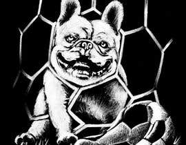 #25 for Illustrate a french Bulldog - Hand Drawn by caloylvr