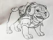Proposition n° 15 du concours Graphic Design pour Illustrate a french Bulldog - Hand Drawn