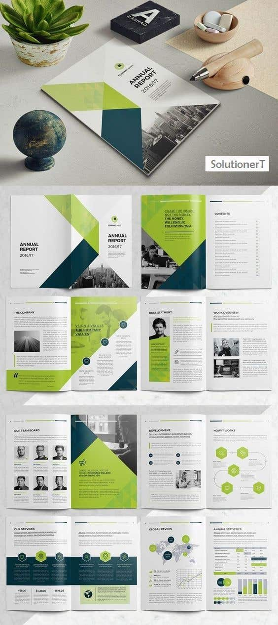 entry 8 by digitalworld2 for design a full page pdf brochure white