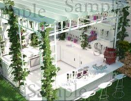Eyad210 tarafından design a summer bar for a ballroom için no 14