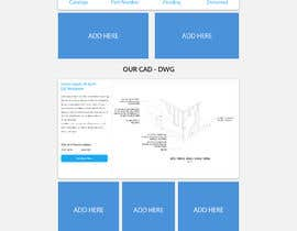 #13 для Design a Website Mockup - CAD-corner.com от Dmamun18