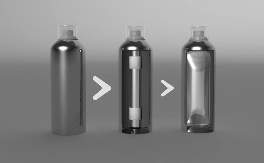 Konkurrenceindlæg #45 for Illustration to illustrate a new aerosol spray technology
